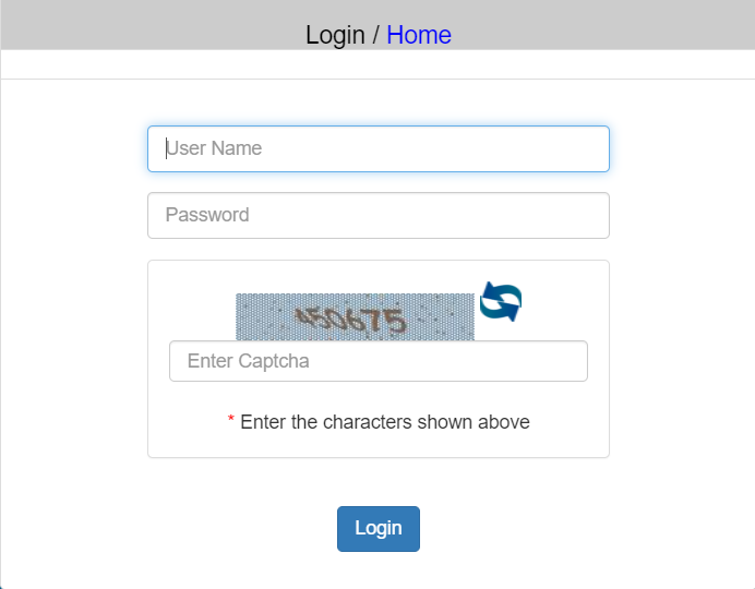 department-login