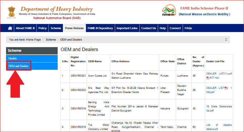 Fame_India_Scheme_2021_OEM_and_Dealers