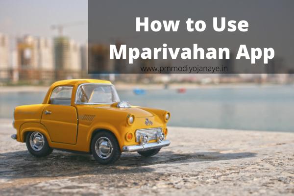How to Use Mparivahan App