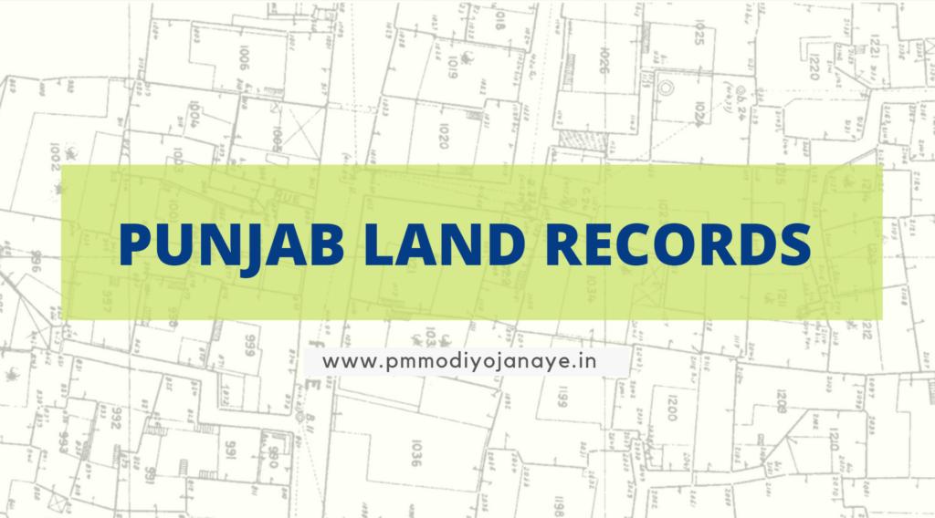 Punjab-Land-Records-PLRS