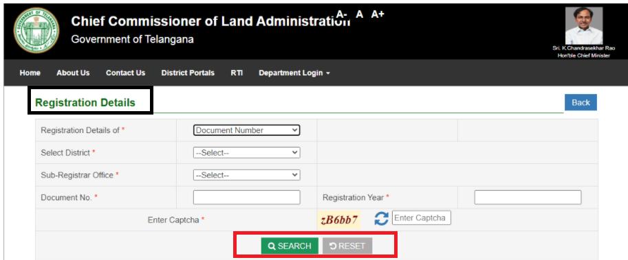 Registration-details