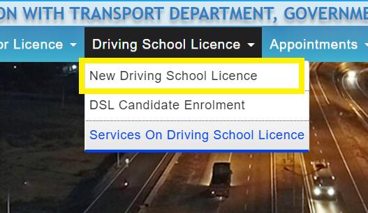 new-driving-school-license-sarathi-parivahan