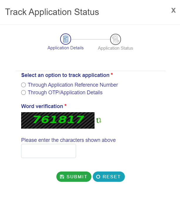 eDistrict-Odisha-track-application