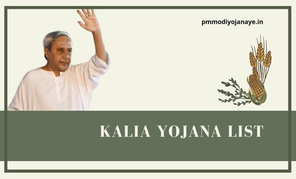 kalia-yojana-list-2021