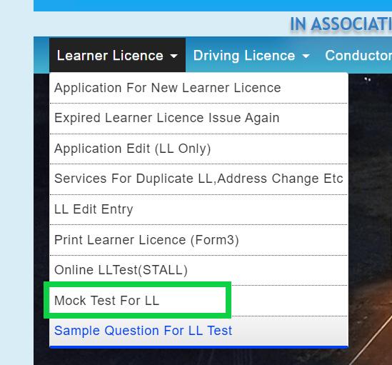 mock-test-learning-license