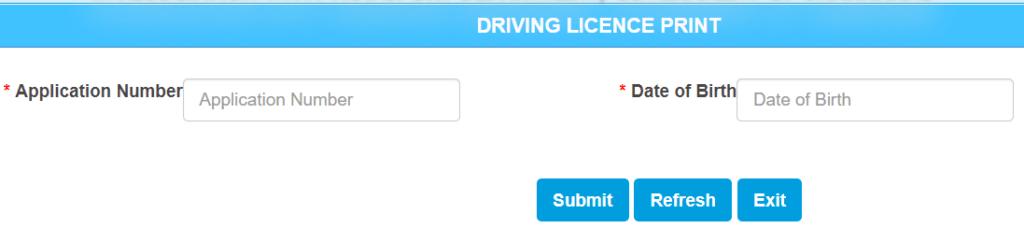print-driving-license-sarathi-parivahan