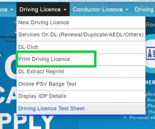 print-download-driving-license