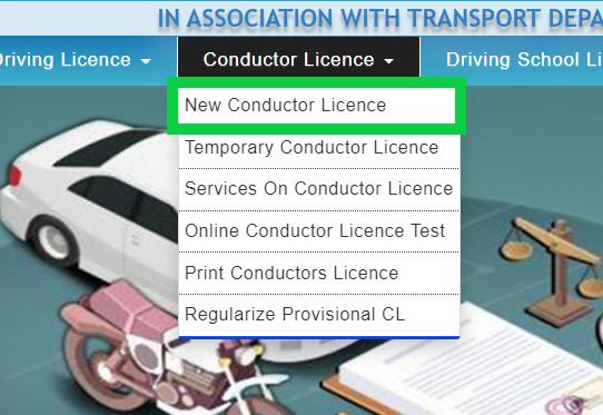 condcutor-license-sarathi-parivahan