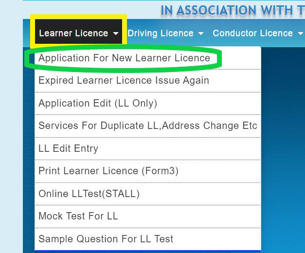 learner-driving-license-online