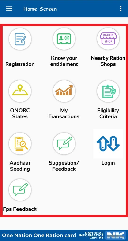 Mera-ration-app-features
