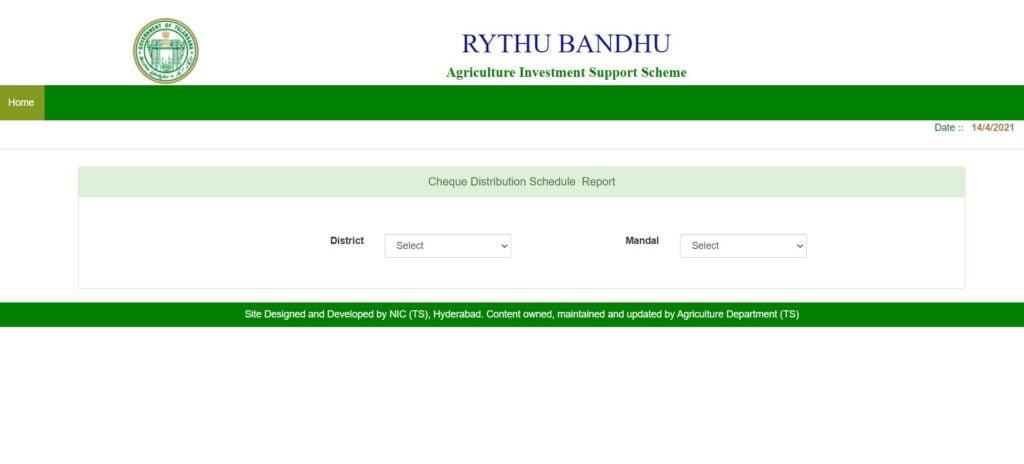 Rythu-Bandhu-Cheque-Distribution-Schedule