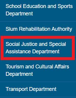 SociAL Justice department