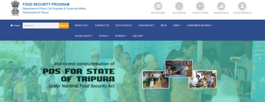 Tripura-Ration-card