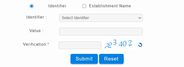 select identifier