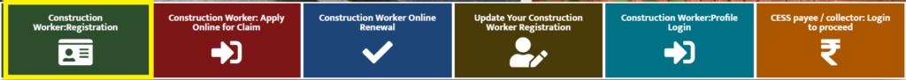 Construction Worker Online Registration