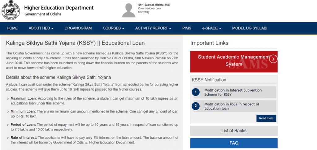 Kalinga Sikhya Sathi Yojana online application